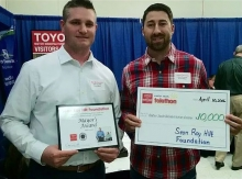 $10,000 Check to Easter Seals